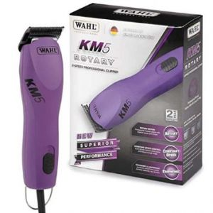 Wahl KM-5 clipper includes 8x Wahl Stainless Steel Metal Guide Combs.